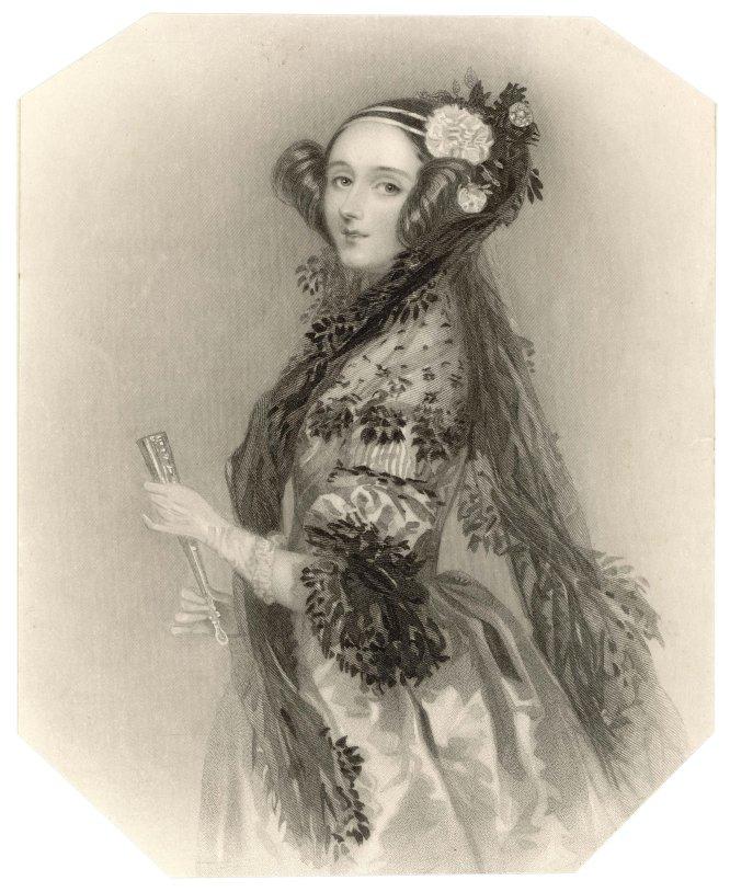 Ada Lovelace, matemática y escritora