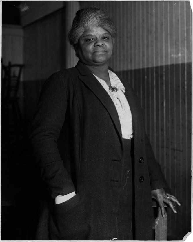 Ida B. Wells, sufragista.