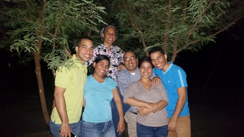 La familia Germán-Torres