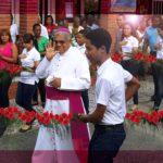 VISITA DEL ARZOBISPO DE SANTO DOMINGO A COMUNIDADES DE LOS ALCARRIZOS