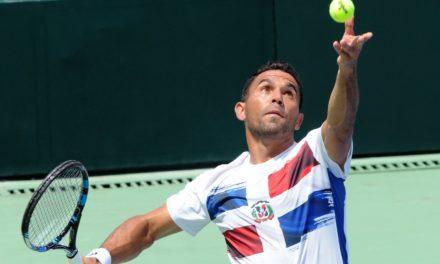 Victor Estrella iguala Copa Davis para Dominicana