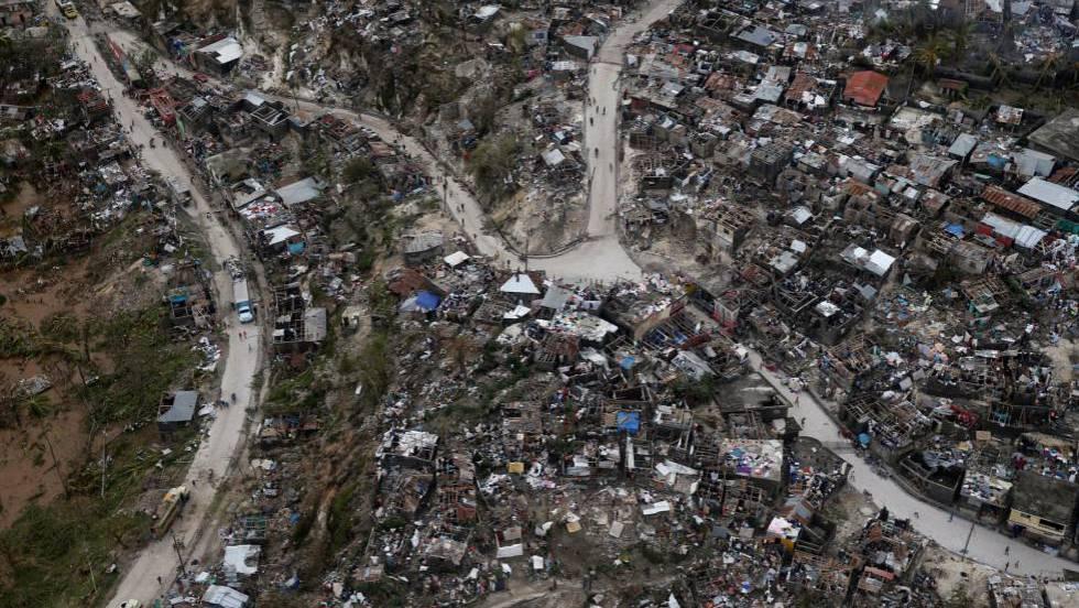 EL PASO DE MATTHEW DEJA MÁS DE 800 MUERTOS EN HAITÍ