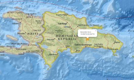 Temblor de 4.4 en Monte Plata
