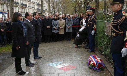 Francia conmemora Atentados