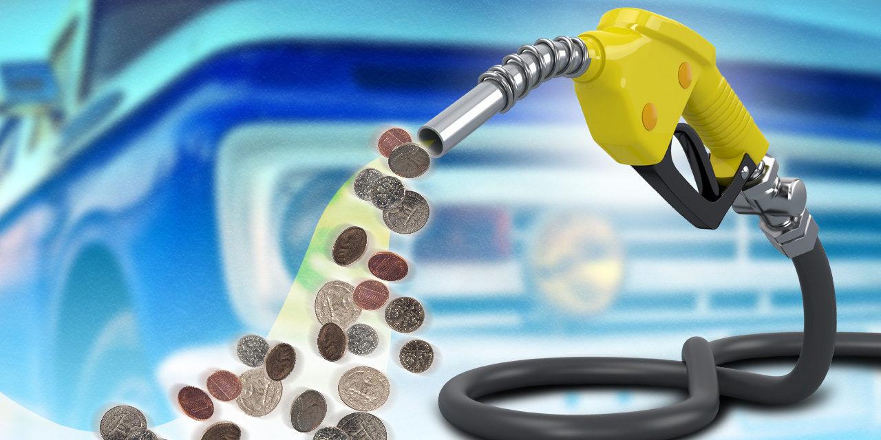 Combustibles bajan nuevamente