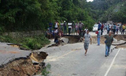 Deslizamientos en Samaná