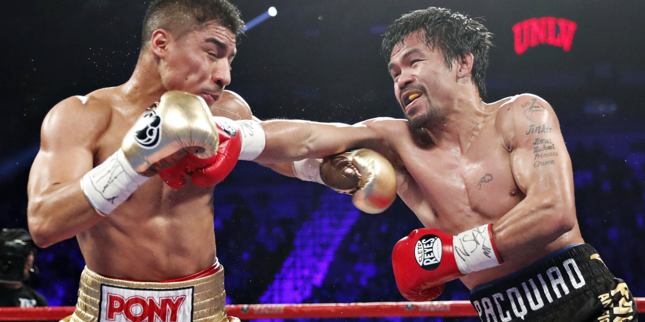 Pacquiao obtiene Welter OMB