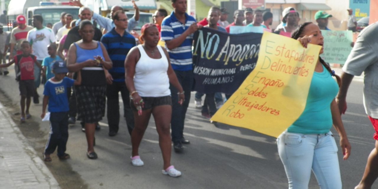 Protestas contra Edesur