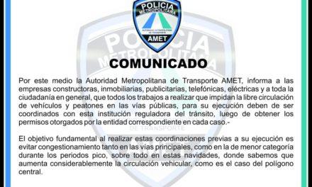 AMET emite comunicado