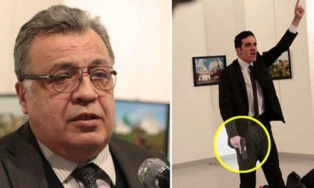 Asesinan embajador ruso en Turquía