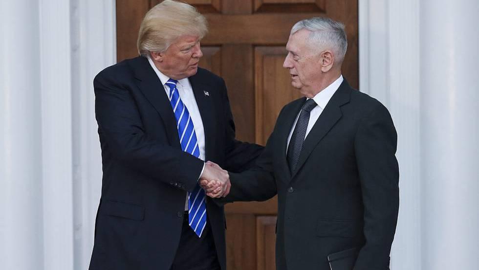 Trump nombra Secretario de Defensa