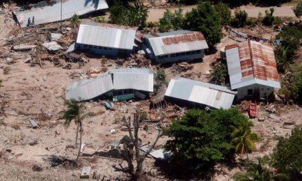 Terremoto destruye casas en Salomón