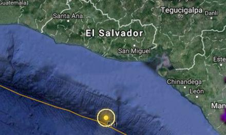 Tiembla la tierra en El Salvador