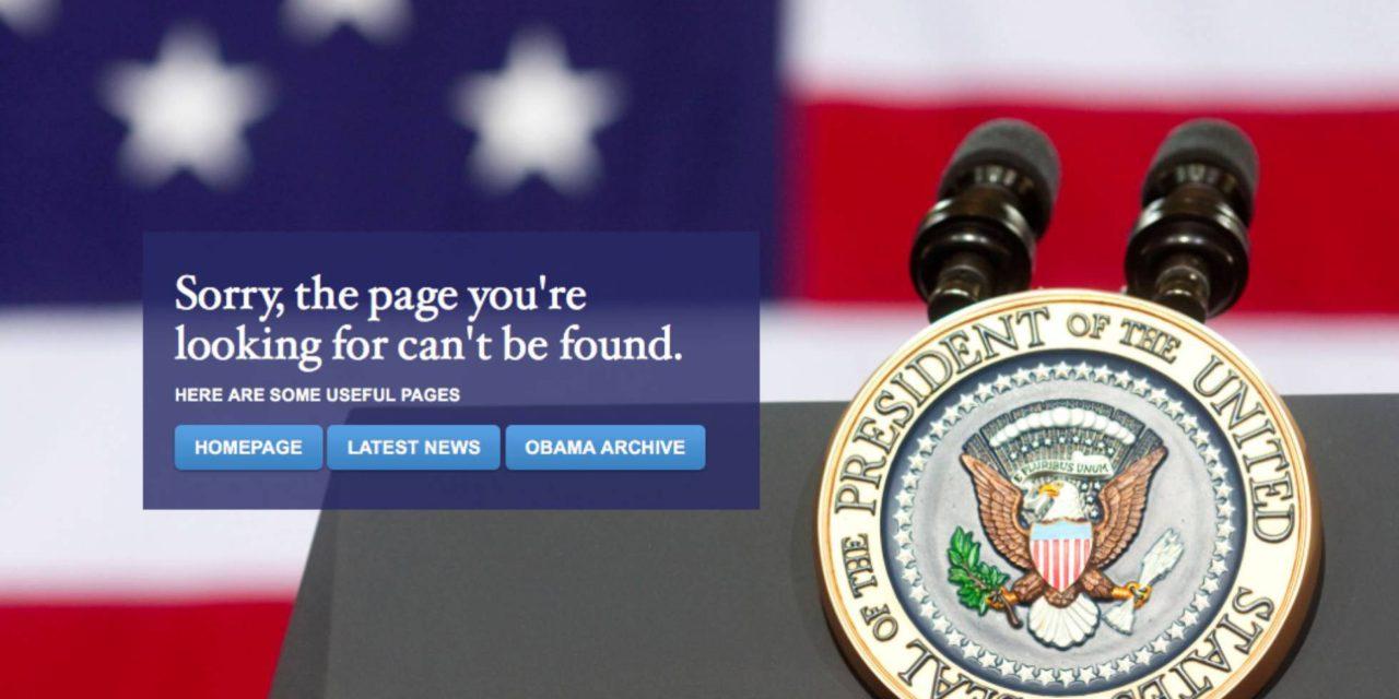 Eliminan español en web Casa Blanca
