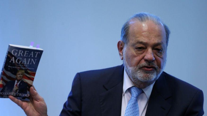 Carlos Slim: el mejor muro es inversión y empleo