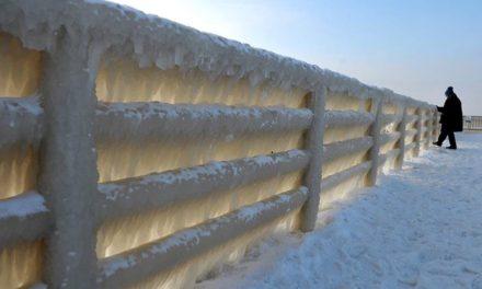 Ola de frío polar azota a Europa