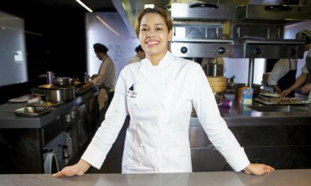 María Marte llegó en 2003 de lavaplatos a Madrid y hoy tiene dos estrellas Michelin