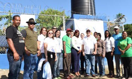 Voluntariado dona pozo de agua Pantoja