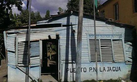 Continua deterioro y notable abandono del cuartel PN en la Jagua Bajo Yuna