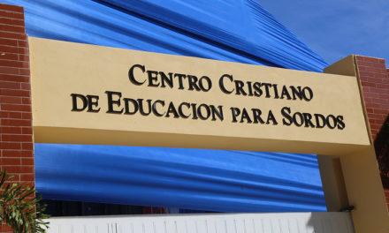 Presidente Medina entrega centro para estudiantes con discapacidad auditiva