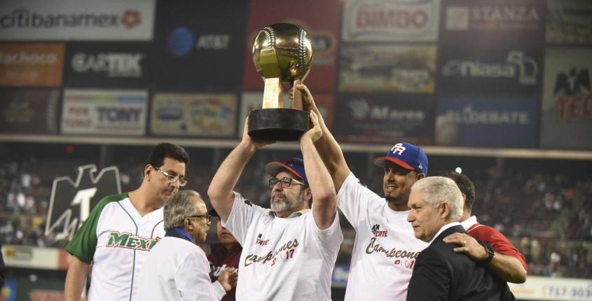 Puerto Rico campeón de la Serie del Caribe, le gana a México