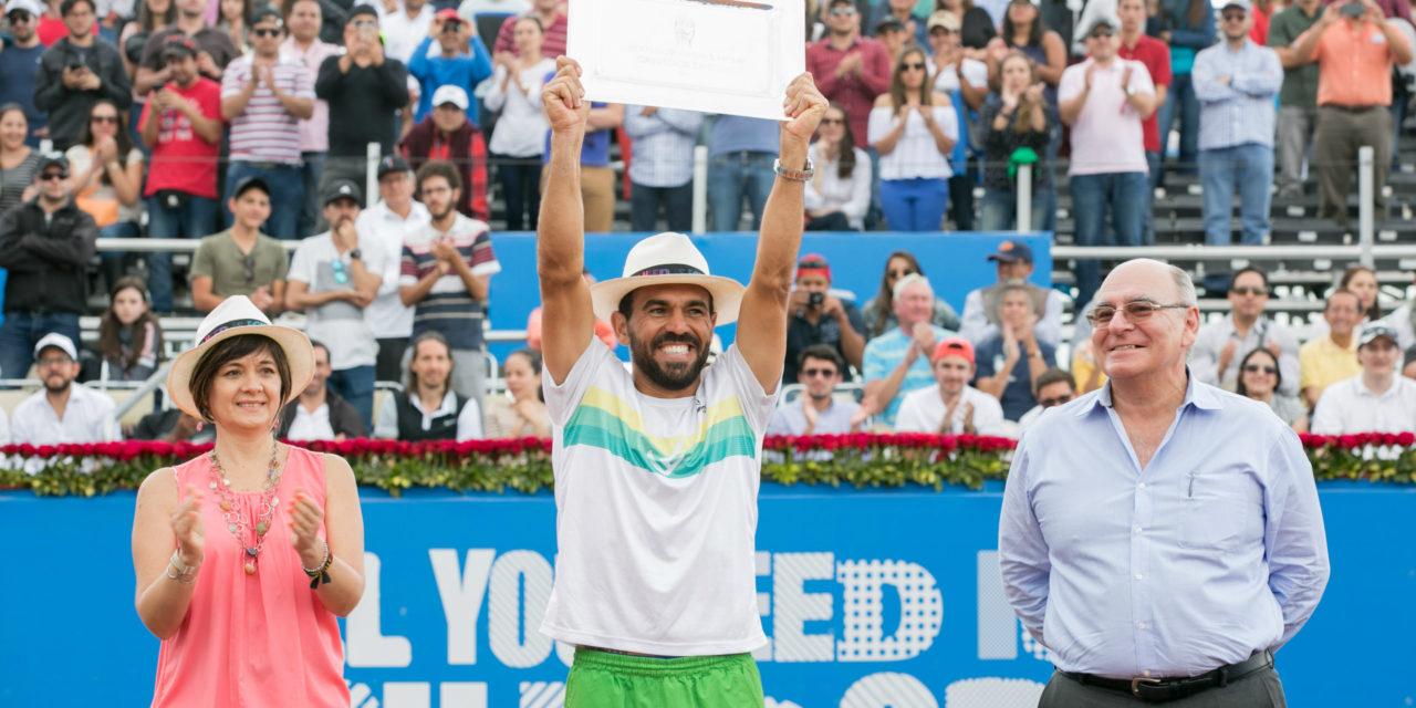 Víctor Estrella campeón por 3ª vez consecutiva en el Ecuador Quito Open