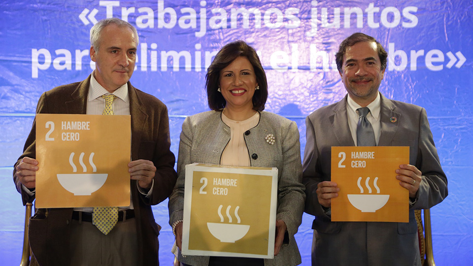 Gobierno y organismos internacionales unen esfuerzos para erradicar hambre al 2030