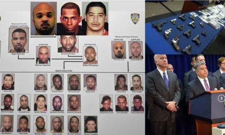 """Pandilleros dominicanos de """"The Bloods"""" acusados por tráfico de miles de kilos de cocaína, heroína, fentanilo y armas"""