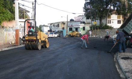 Alcaldía de Los Alcarrizos: entre asfaltado y basura
