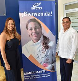 Chef dominicana destacada en España anuncia su apoyo a la escuela de gastronomía que construye el INFOTEP
