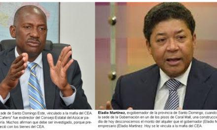 """CONA pide incluir al """"cañero"""" y Eladio Martínez en investigación de mafia del CEA"""