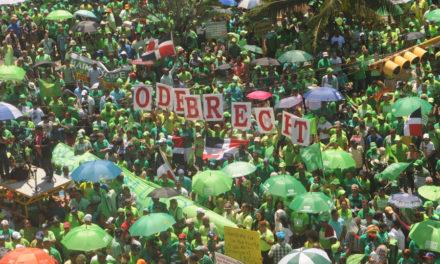 Proclaman El Manifiesto del Cibao contra la corrupción e impunidad en la Marcha Verde