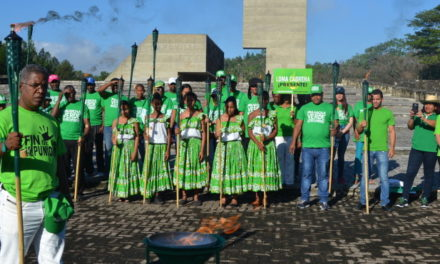Encienden la Llama Verde del Fin de la Impunidad en Capotillo