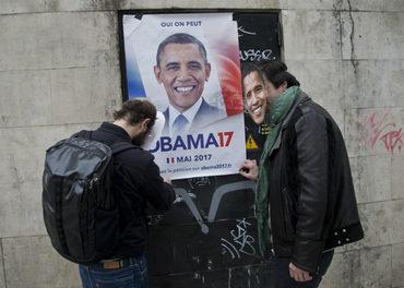 Piden a Obama competir en elecciones de Francia