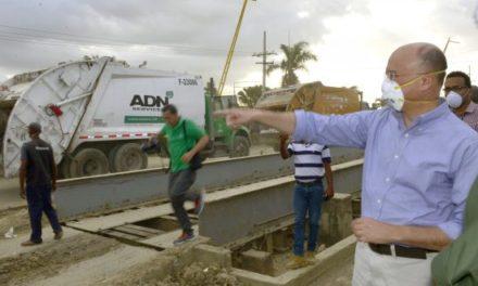 Domínguez Brito: vertedero de Duquesa trabajará hoy hasta las ocho y el fin de semana