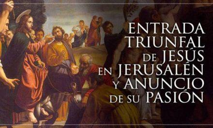 La celebración del Domingo de Ramos