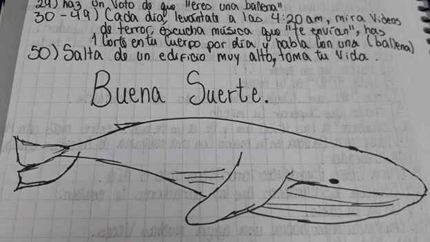 El juego la ballena azul, empieza a preocupar a las autoridades, Alcarrizos News Diario Digital