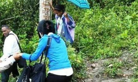 Maestros de Altamira denuncian atraviesan montes para llegar a escuela