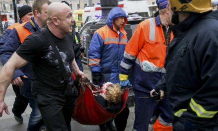 Atentado con bombas en el metro de San Petersburgo
