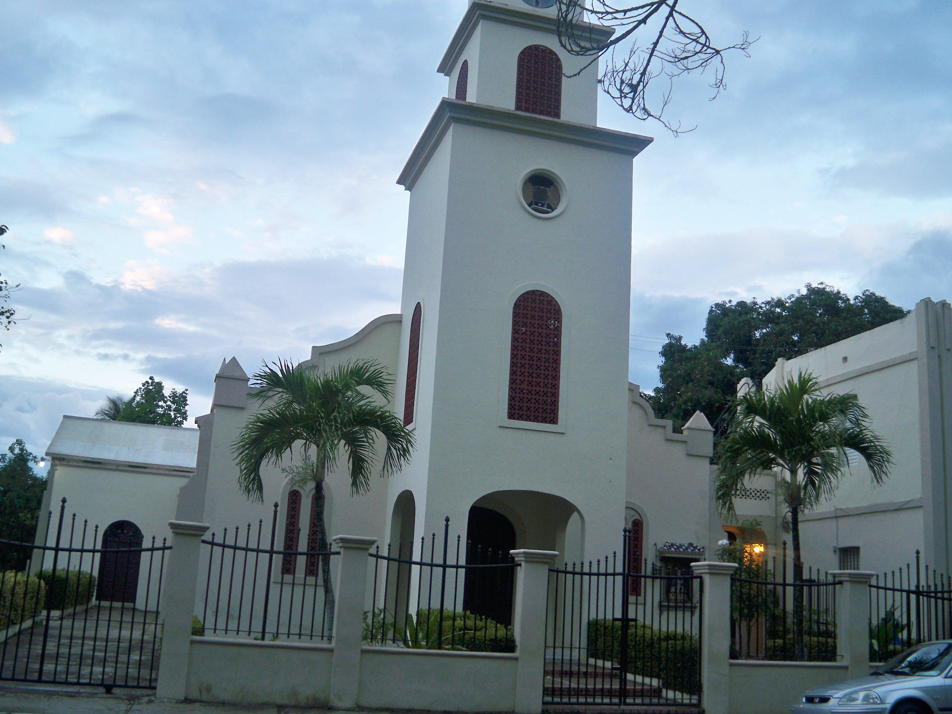 Resultado de imagen para parroquia nuestra señora del rosario DE DAJABON