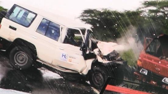 Accidente en Azua deja saldo de dos muertos y varios heridos