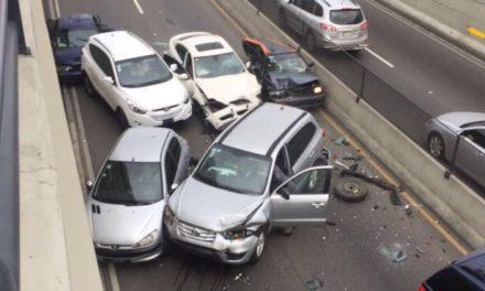 AMET Identifica los cuatro heridos en accidente del túnel de la  27 de Febrero