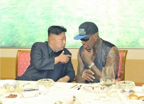 Dennis Rodman: Mi amigo Kim ama EEUU y no quiere bombardear