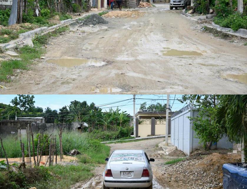 Residentes en el sector Palmarejo exigen la construcción de calles