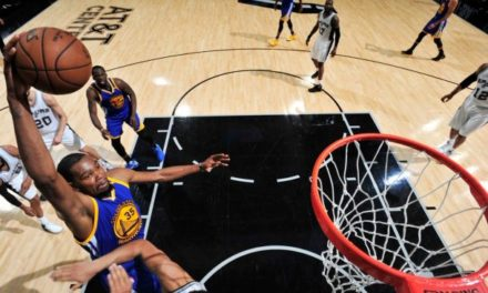 Golden State Warriors le pasa el rolo a San Antonio Spurs