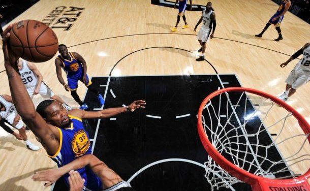 Golden State Warriors le pasa el rolo a San Antonio Spurs