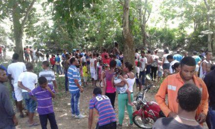 Recuperan cadáver de niño de El Café ahogado en cañada de Guajimía