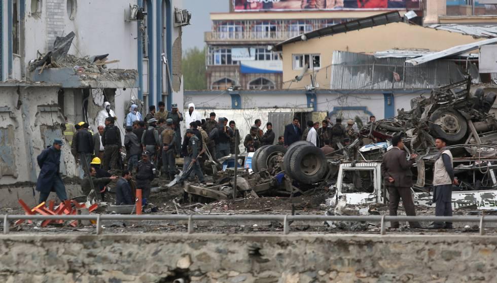 Explota, camión bomba en Kabul, deja 90 muertos y más de 400 heridos, Alcarrizos News Diario Digital