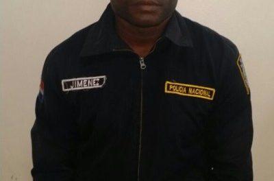 Apresan en el AILA primer teniente armado de la policía del hijo de Euclides Gutiérrez