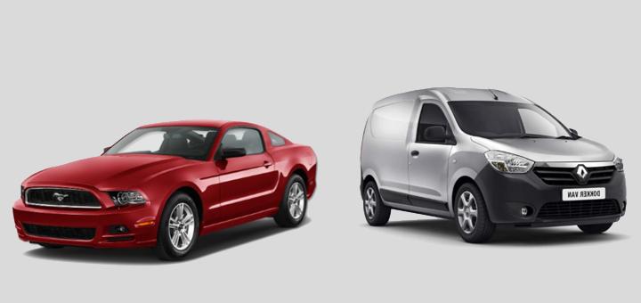 Pro-Consumidor alerta por desperfectos en los vehículos Ford Mustang y Renault Dokker